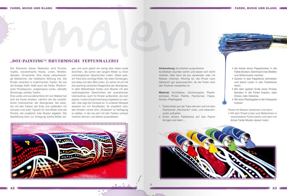 Zauberhafte Farbenwelt Beispielseite 1