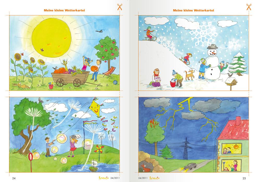 Wilde Wetter - Meine kleine Wetterkartei