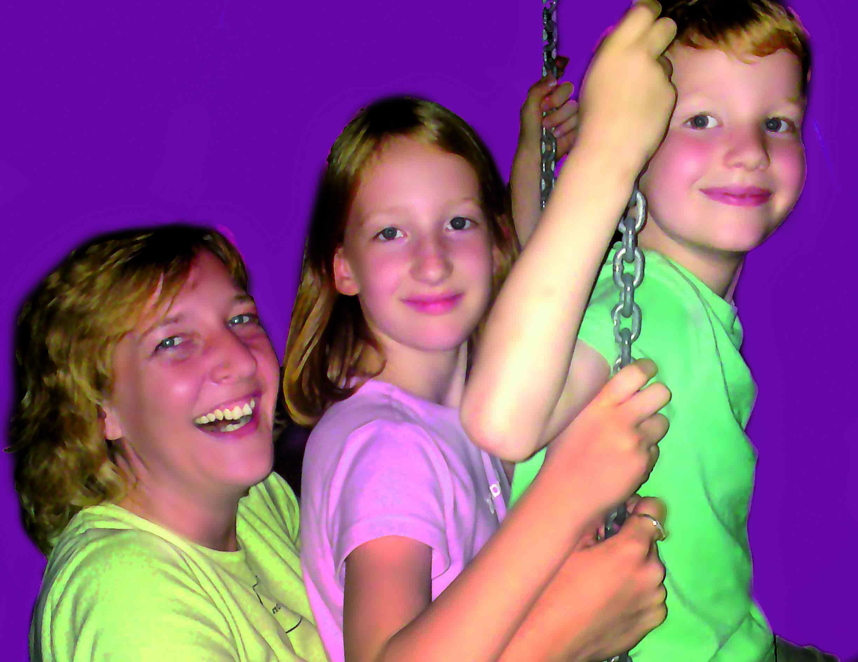 Leon und Leonie Susanne Rosenberg und Kinder