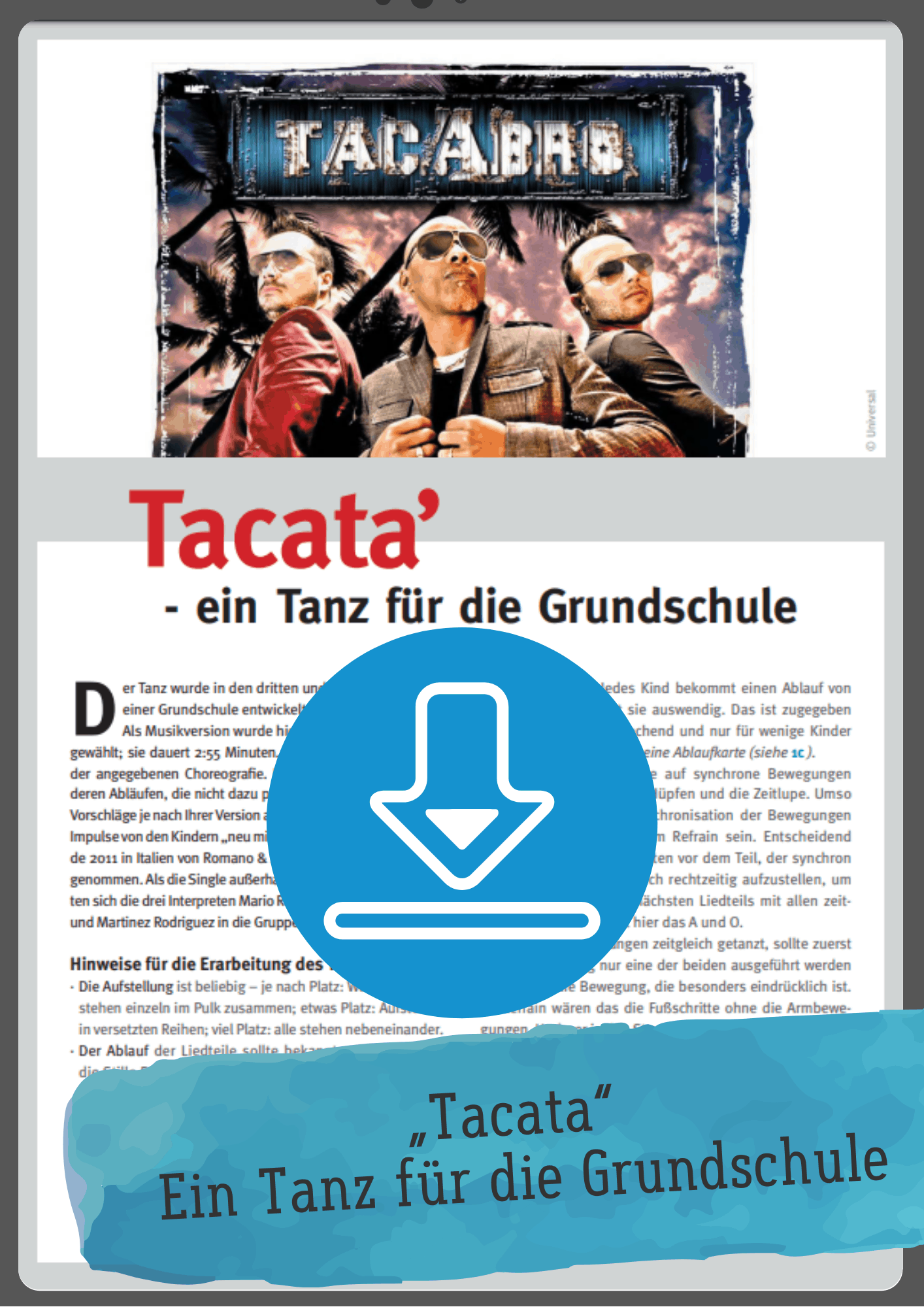 Tacata Tanz