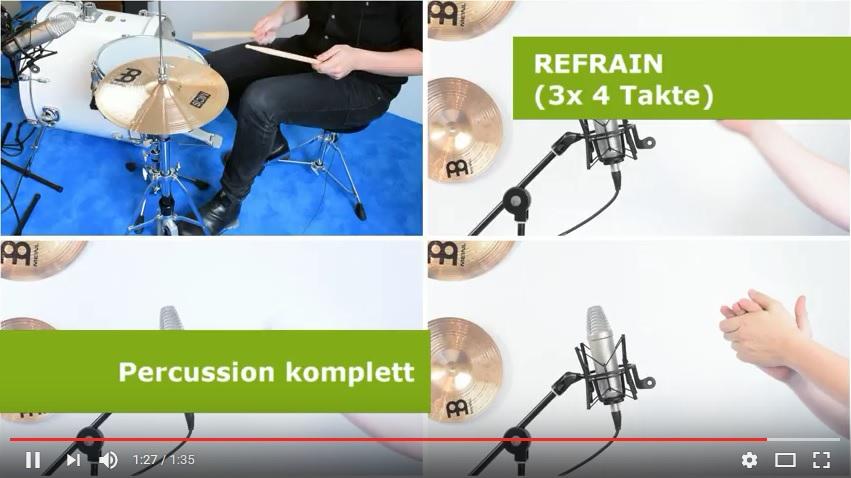 Videos Klassenmusizieren