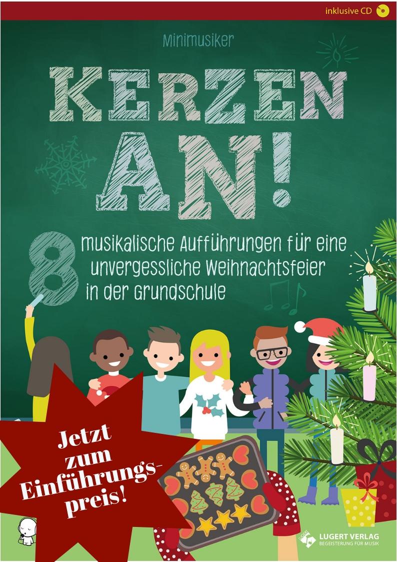 Kita Weihnachtsfeier Ideen.Neu Kerzen An Jetzt Zum Einführungspreis Lugert Verlag