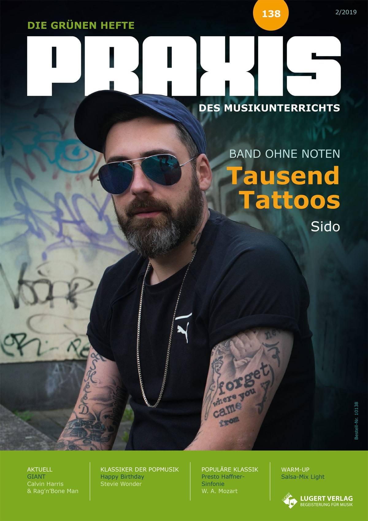 tausend tattoos noten sido