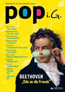 aktuelle Ausgabe der POPi.G. mit Beethoven-Unterrichtsmaterial