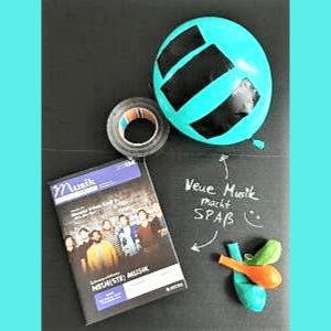 luftballon tape neue musik
