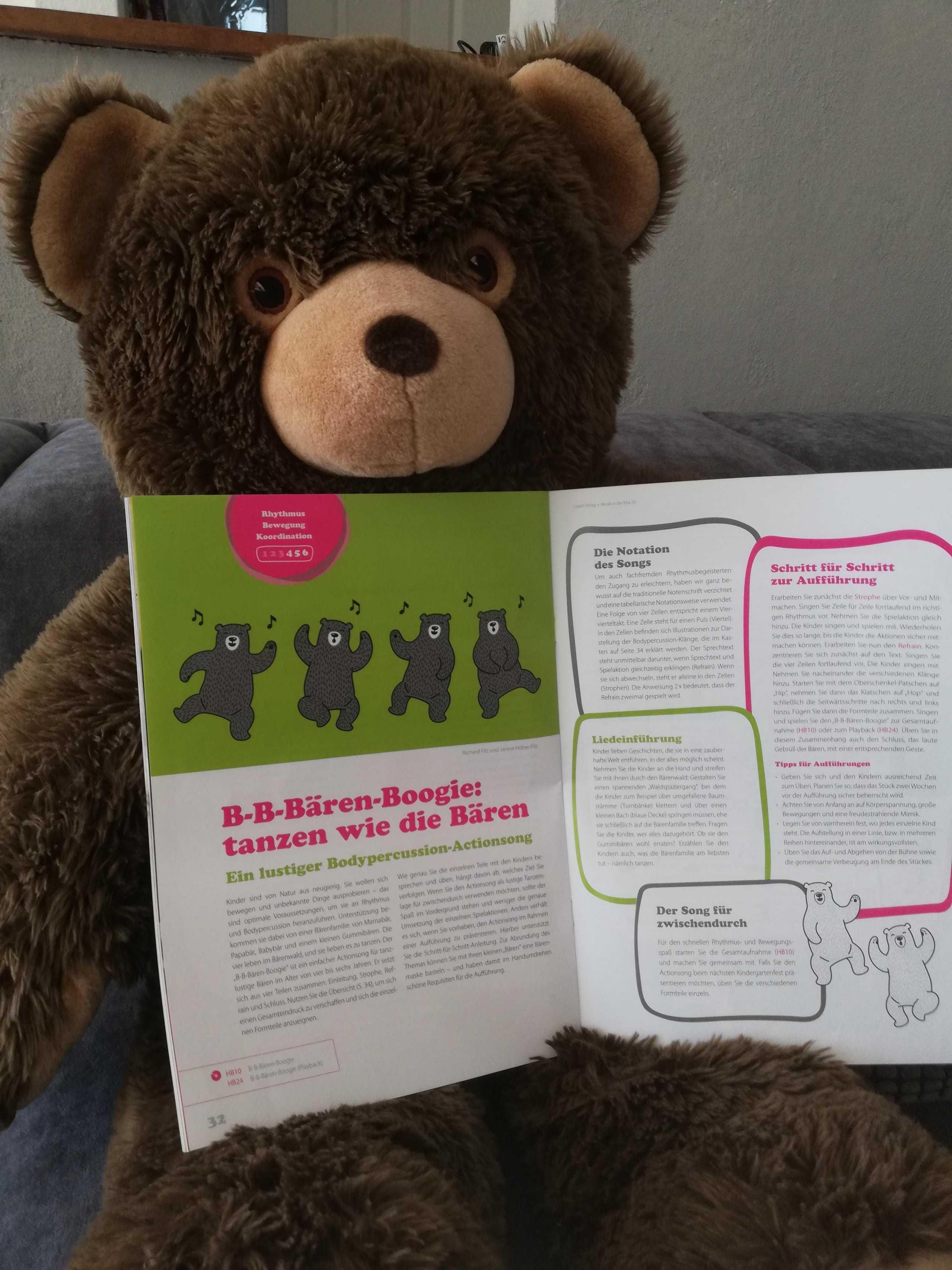 Bodypercussion Musikunterricht Kita Bären