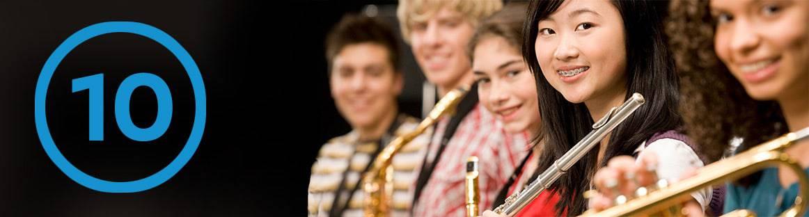 Musikunterricht 10. Klasse
