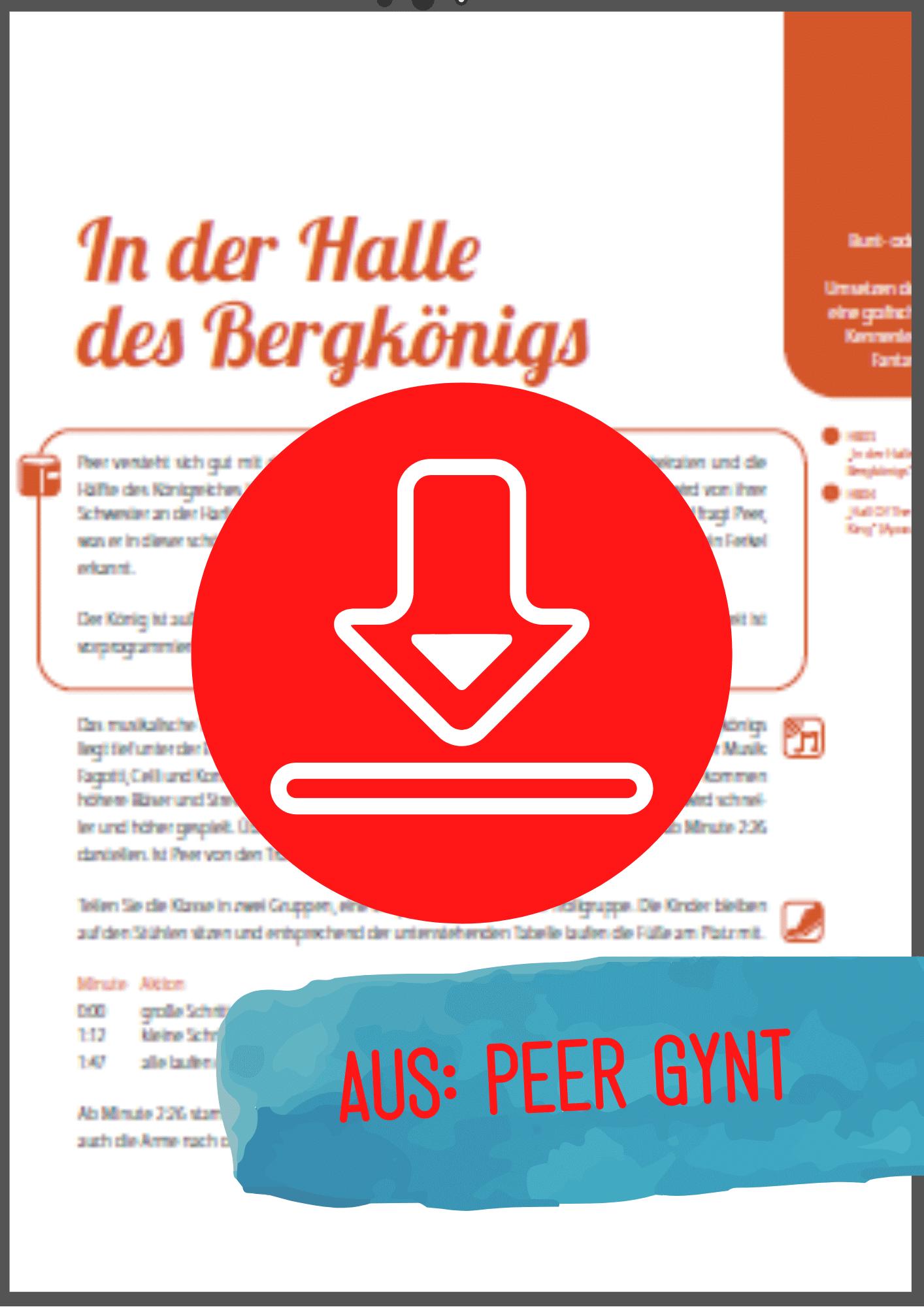 Peer Gynt Halle des Berkönigs Gratis-Download