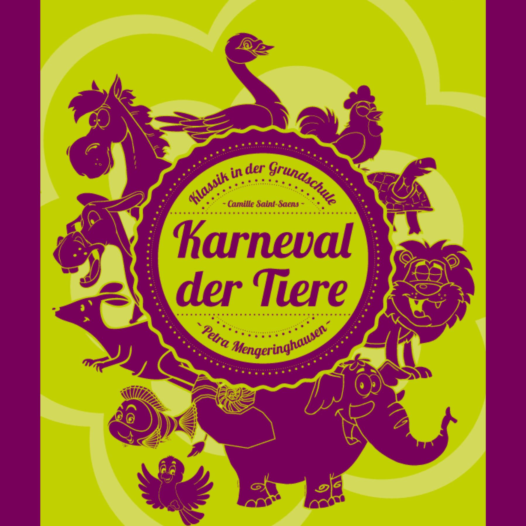 karneval der tiere in der grundschule  material  gratis