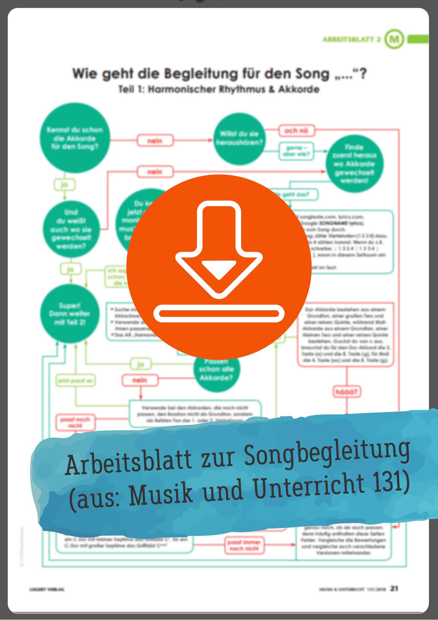 liedbegleitung musikunterricht