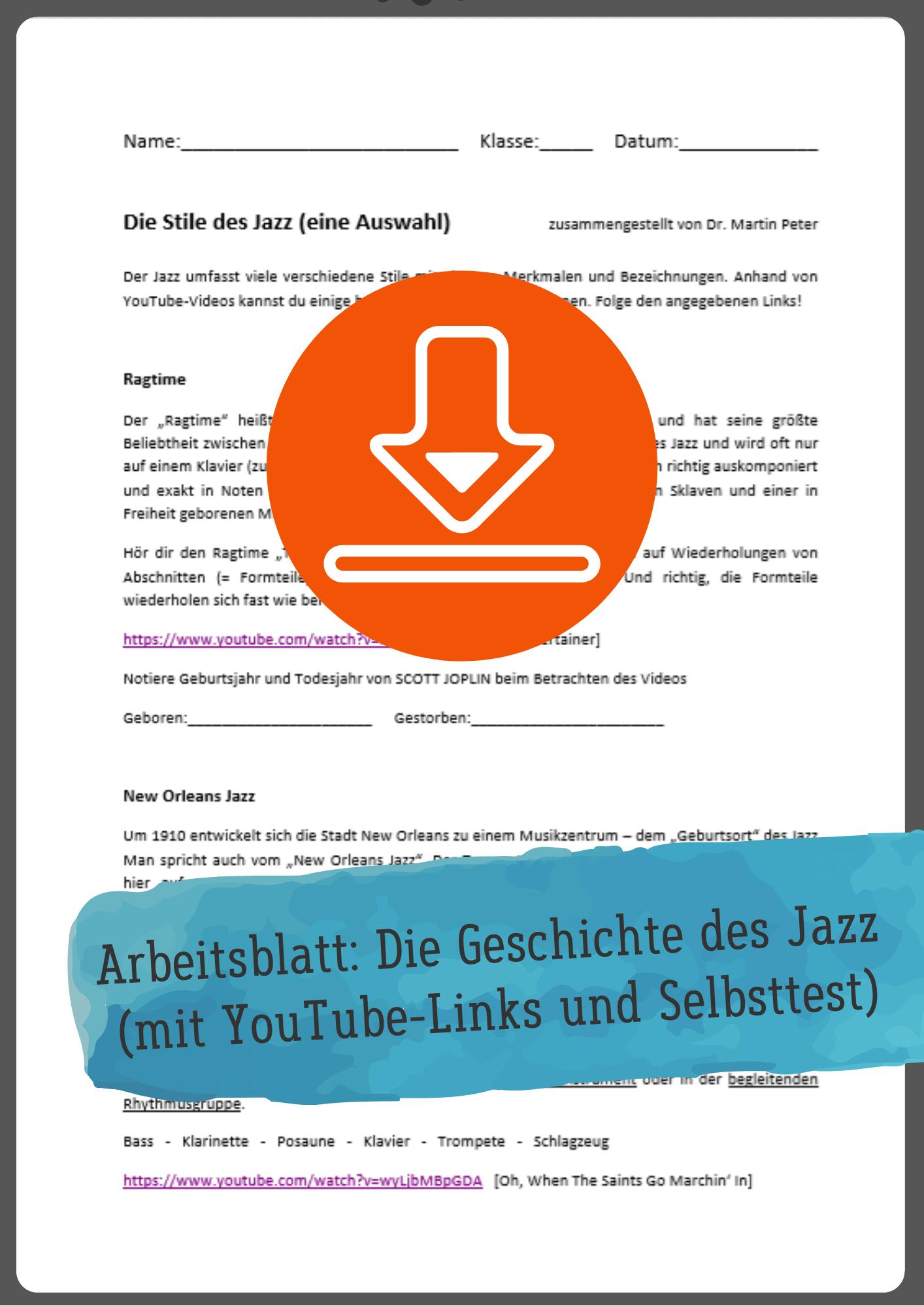 jazz musikunterricht