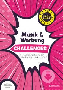 challenges musikunterricht Werbung